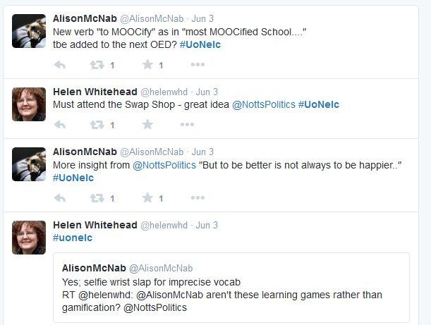 UoNELC tweets