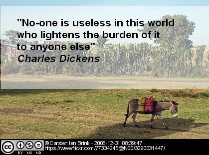 charles dickens burden quote