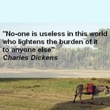 charles dickens burden quote square
