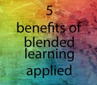 5 benefits of blended learning