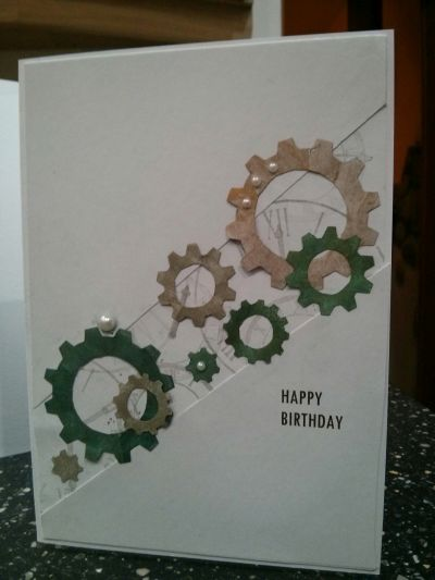 Steampunk Cogs Birthday